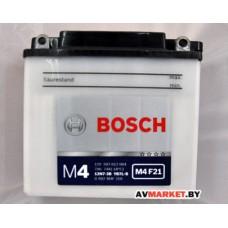 АКБ BOSCH 507 012 7Ah (YB7L-B)  moto(136*76*134)