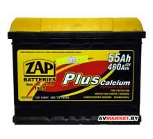 АКБ ZAP 55559 евр 55Ah 460A (242*175*190) plus