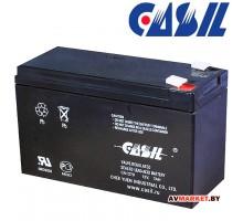 Аккумулятор CASIL 12в 7А (гель) 151*65*94 CA1270