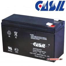 Аккумулятор CASIL 12в 7А (гель) 151*65*94 CA1270 Китай