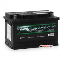 Аккумулятор GIGAWATT 74Ah евр 680A (278*175)