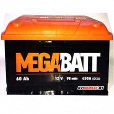 Аккумулятор Mega Batt  60А евро