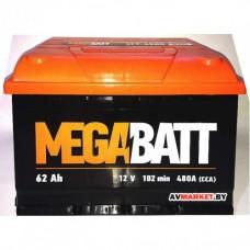 Аккумулятор Mega Batt  62А рус.