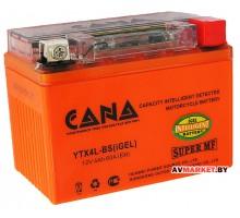 Аккумулятор СТ12в 4А-ч)(гель)с индикатором заряда