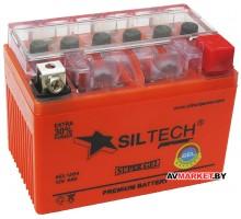 Аккумулятор СТ12в 4АYT4L-BS(130A)(гель) без индикатора GEL1204 Siltech