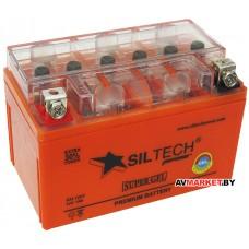 Аккумулятор СТ12в 7А  YTX7A-BS(50A) (гель) без индикатора GEL1207 Siltech