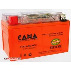 Аккумулятор СТ12в 7А-ч)(гель)с индикатором заряда iGEL1204 Siltech