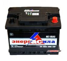 Аккумулятор энергАсила 6СТ-55з евр 430-450А