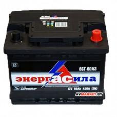Аккумулятор энергАсила 6СТ-60Аз евр 480А