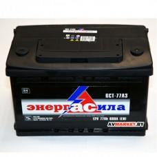 Аккумулятор энергАсила 6СТ-77з евр 680А