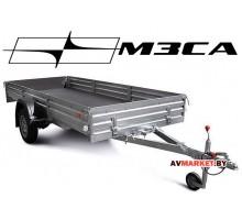 Прицеп МЗСА-817717.001-05 (345х151 см, борт 29 см) для перевозки мототехники и других грузов
