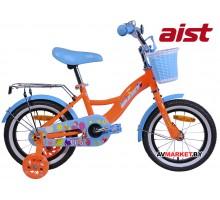 """Велосипед 14"""" двухкол для детей Aist LILO оранжевый 2019 4810310003983"""