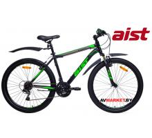 """Велосипед 26"""" горный Aist Quest (16 черно-зеленый) 2019 4810310005406"""