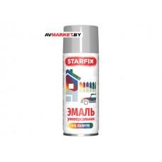 Краска-эмаль аэроз. универсальная серебряный хром STARFIX 520мл 9006 SM-103034-1 РБ