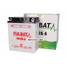 Аккумулятор FULBAT DRY FB12A-A 134*80*160 12Ач -/+ 550561 Китай