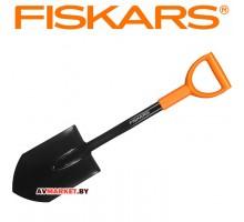 Лопата штыковая укороченная FISKARS Solid, арт 131417 (Россия)