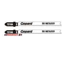 Пилка лобзика по металлу T218А  2шт. GEPARD (GP0612-03) арт..GP0612-03 (Китай)