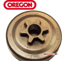Барабан цепной (звездочка) 3/8 LP 6 зуб  OREGON Echo CS-300, 301, 305, 306, 330T, 340, 341