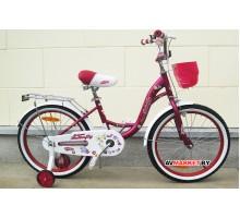 """Велосипед Magnum Butterfly 20"""" разноцветный Китай"""