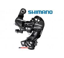 Переключатель задний Shimano Tourney, TY300, 6/7ск.,крепление на петух, Индонезия 4003 аналог RDTX35