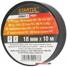 Изолента ПВХ 18мм*10м черная STARTUL PROFI ST9047-1 Китай