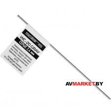 Электрод вольфрамовый серый SOLARIS WC-20 Ф2,4мм TIG сварка Китай WM-WC20-2401