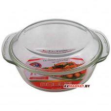 Кастрюля из жаропрочного стекла 2,0 л.с крышкой PERFECTO LINEA 11-200010 Китай