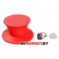 Ручка к стеклянной крышке силиконовая красная PERFECTO LINEA 25-010311 Китай