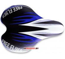 Седло DDK 1216 черный синий 4407