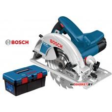 Пила циркулярная BOSCH GKS 190 в кор. + ящик для инструментов Toolbox PRO арт 0615990L2E Китай