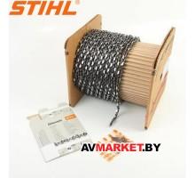 Бухта цепи Stihl ( 1,3-3,8 прямой зуб) 63 PS 36170061640 Швейцария