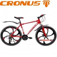 """Велосипед красный (литой-Кронус)196-911 МТВ-1 ТУ 26"""" BY 100180459.009-2005"""