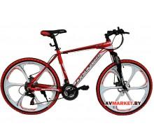 Велосипед Magnum Cross 26 белый-красный КНР(ЛИТОЙ)
