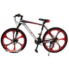 Велосипед Magnum Cross 26 матовый красный-черный