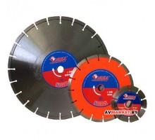 Алмазный круг 450х25.4 мм по асфальту сегмент. ПРОФЕССИОНАЛ