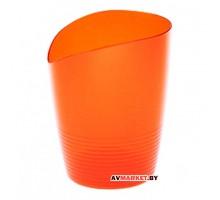 Кашпо для орхидей Mia 0,8л оранжевый BEROSSI АС26018000