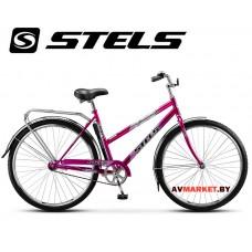 Велосипед 28 STELS (Жен) NAVIGATOR 300 Lady Россия (красный фиолетовый морск.волна)