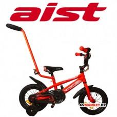 """Велосипед двухколёсный для детей Aist PLUTO 12"""" красный 4810310000913"""