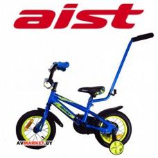 """Велосипед двухколесный для детей Aist PLUTO 12"""" синий 4810310000920"""