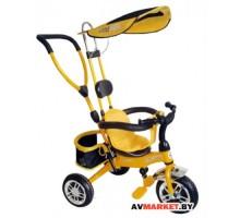 """Велосипед трехколесный детский """"LITTLE TIGER"""" рама сталь ручка управления навес багажник XHZ-970-5"""