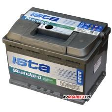 Аккумулятор ISTA 6СТ-55А1 Standart 450A