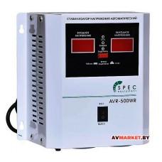 Стабилизатор напряжения автоматический SPEC AVR-500WR