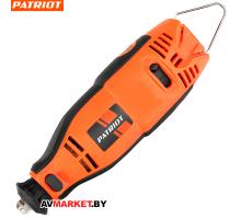 Гравер электрический PATRIOT EE 170, 160Вт, 210 насадок в комплекте, гибкий вал, кейс 150301170