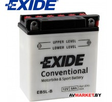 Convertional EB5L-B Аккумулятор мотоциклетный Exide Convertiona  (EB5L-B)