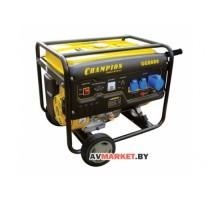Генератор CHAMPION GG8000 (6/6,5 кВт OHV190F14 лс