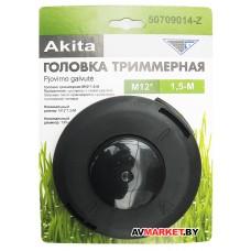 Головка триммерная Akita М12*1,5-М 130мм для Stihl FS 400 левая резьба 50709014-Z Китай