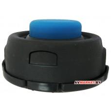Головка триммерная синяя кнопка большая T45 M10*1.25 14см LIDER 415 Китай 160036 160058