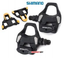 Педали Shimano RS500 SPD-SL с шипами SH11 Россия 6031