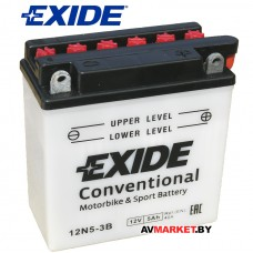 Аккумуляторная батарея Exide Conventional 12N5-3B 5Ah 40A(EN) DIN 50512 4517 евро 5