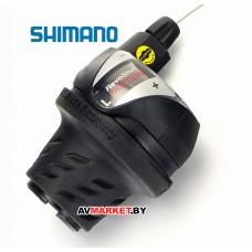 Манетка лев. 3 ск Шифтер Shimano Tourney SL-RS36-LN